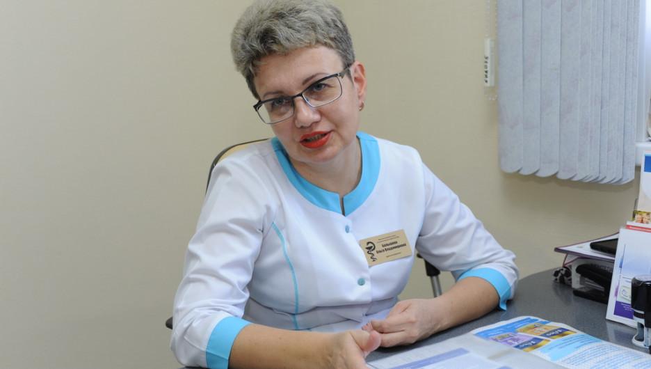 Врач аллерголог-иммунолог высшей категории Ольга Балышева