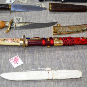 Оружейная выставка в краеведческом музее