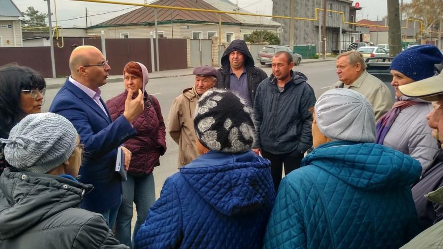 Жители ул. 8 марта