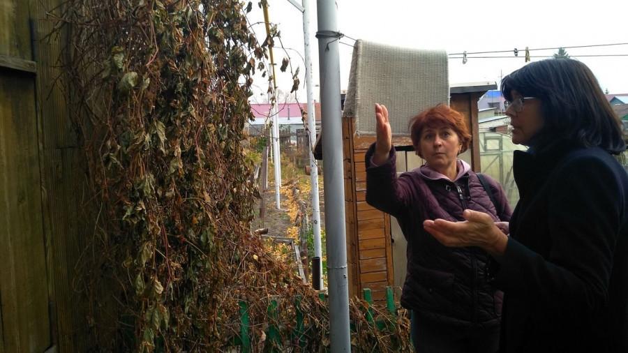 Татьяна Калинина. Житель оштрафованной улицы 8 Марта в Барнауле.