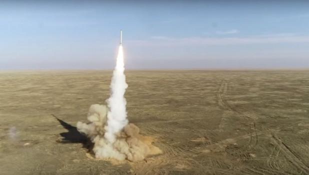 Пуск крылатых ракет ОТРК «Искандер» в рамках СКШУ «Гром-2019».