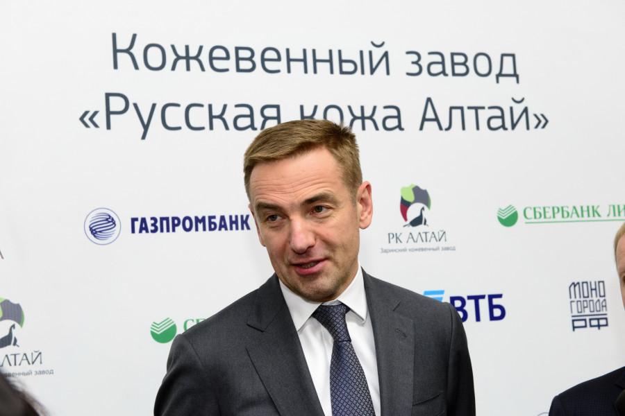 Виктор Евтухов, статс-секретарь, заместитель министра промышленности и торговли РФ.