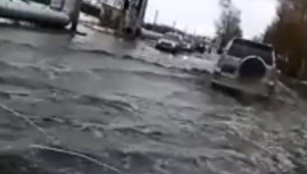 Потоп в Бийске.