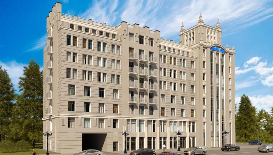 """Проект гостиницы """"Рэдиссон"""" в Барнауле"""