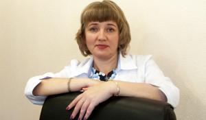 Главный психиатр Алтайского края Марина Вдовина.