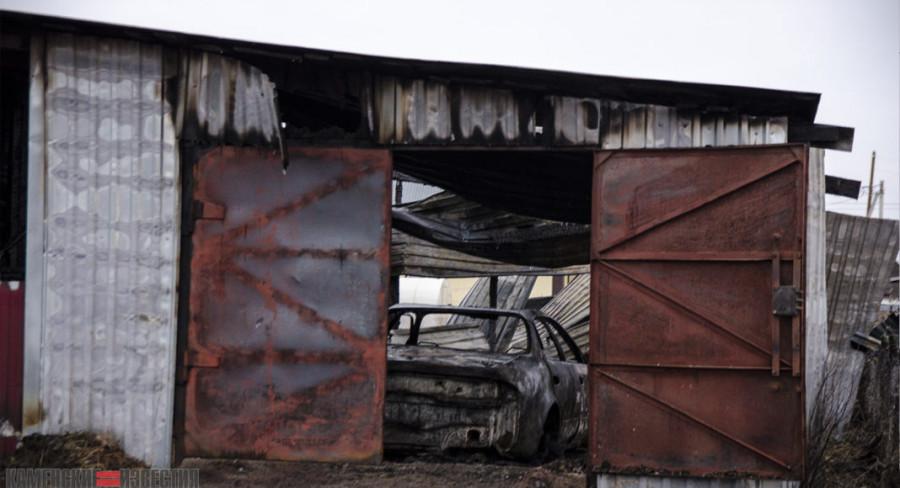 Пожары в Камне-на-Оби.