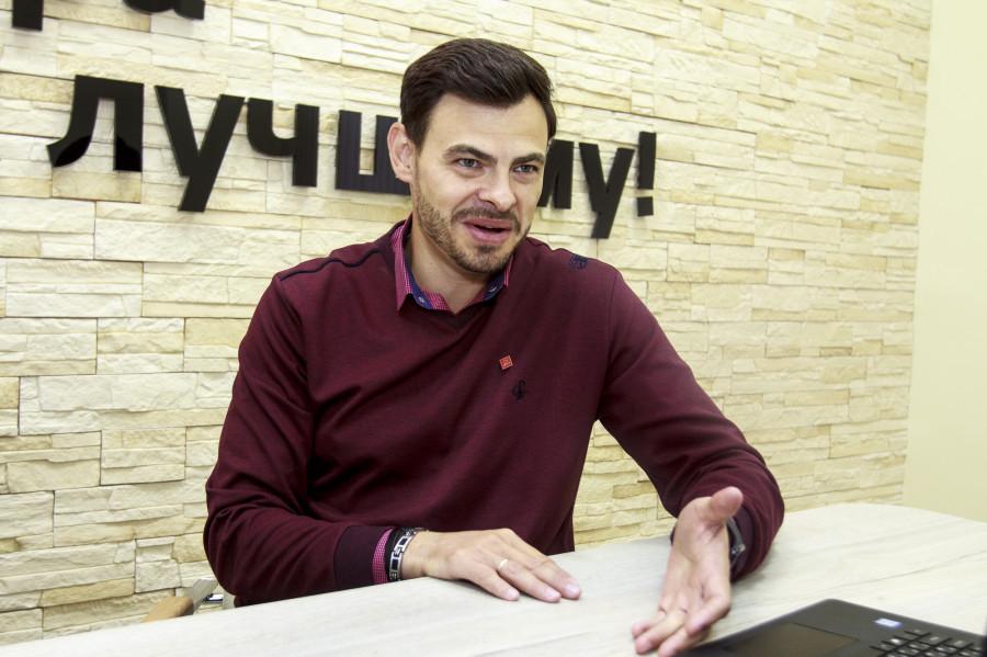 """Евгений Макагонов, директор филиала """"Дом.ru"""" в Барнауле."""