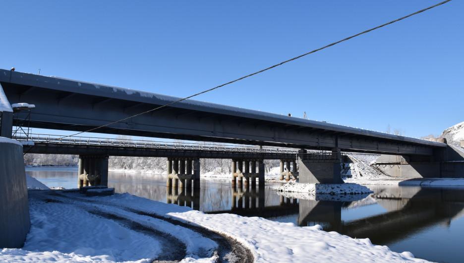 Мост через Ишу.