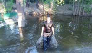 Мусороуловитель на Барнауле собрал 5 тонн отходов.