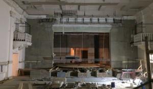 Реконструкция Рубцовского драмтеатра