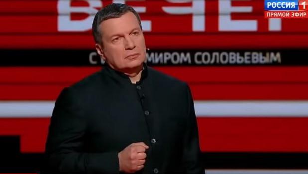 Телеведущий Соловьев признался в любви к Украине
