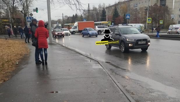 ДТП 25 октября в Барнауле