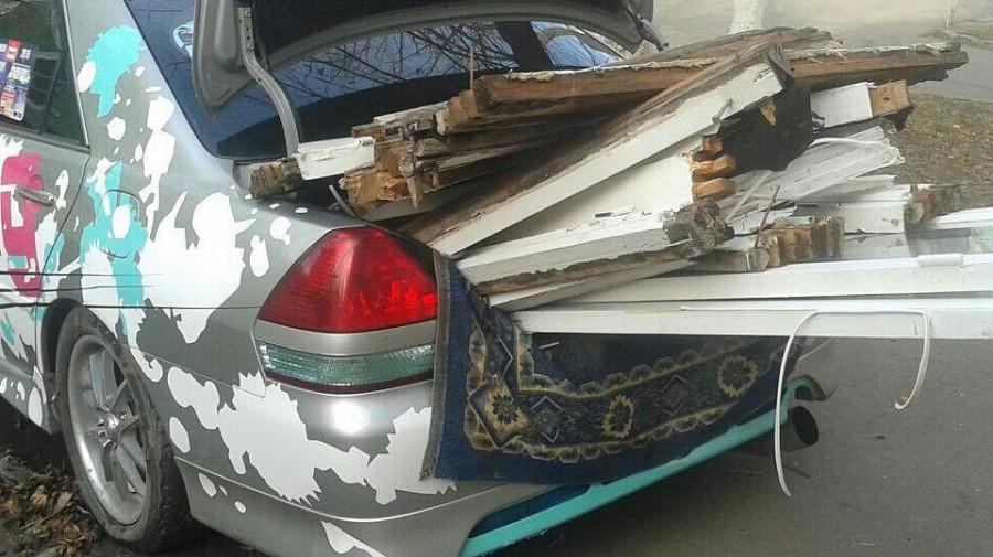 Toyota Mark II Алексея Курелёнка.
