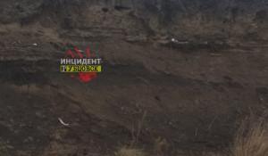 """В Рубцовском районе из могил """"вымыло"""" кости."""