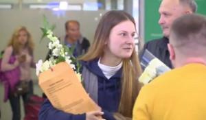 Мария Бутина вернулась в Россию.
