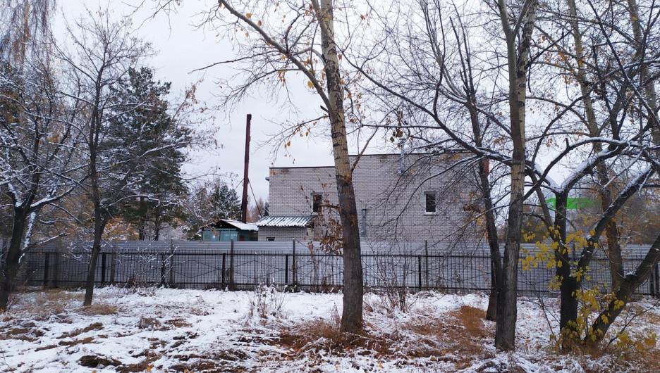 В парке Целинников.