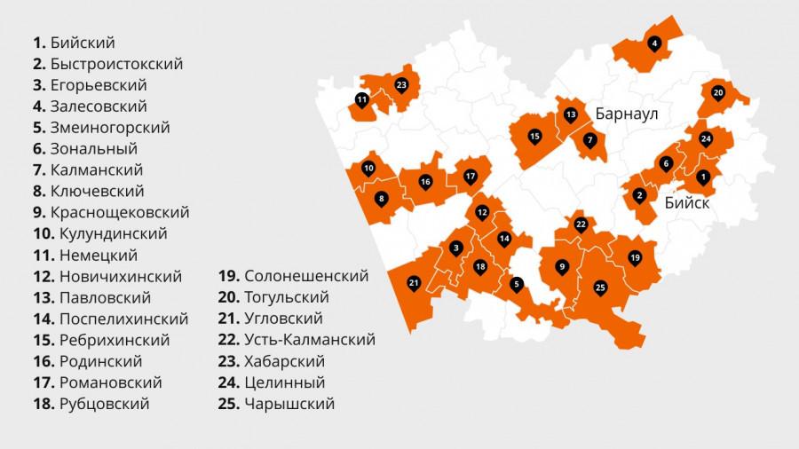 Где в Алтайском крае появятся первые спортивные площадки