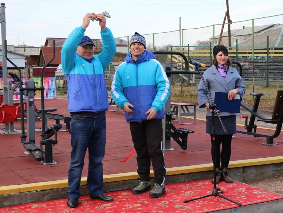 Открытие спортивной площадки в Ребрихе