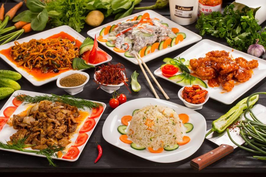 Азиатская кухня.
