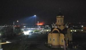 Пожар у Новоалтайска.