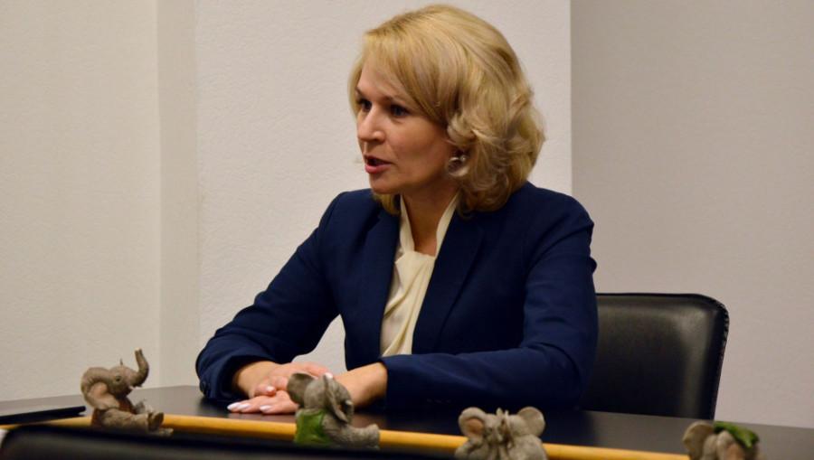 Министр социальной защиты Алтайского края Наталья Оськина.