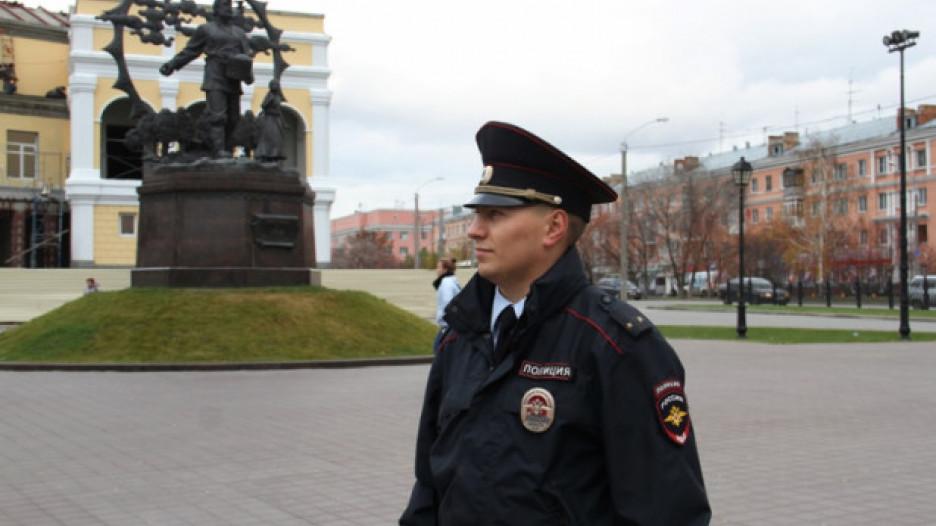 Старший участковый Сергей Богомолов