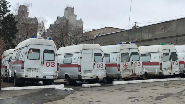 """""""Скорая помощь"""" в Барнауле."""