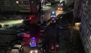 Пожар в девятиэтажке в Бийске в ночь на 4 ноября 2019 года.