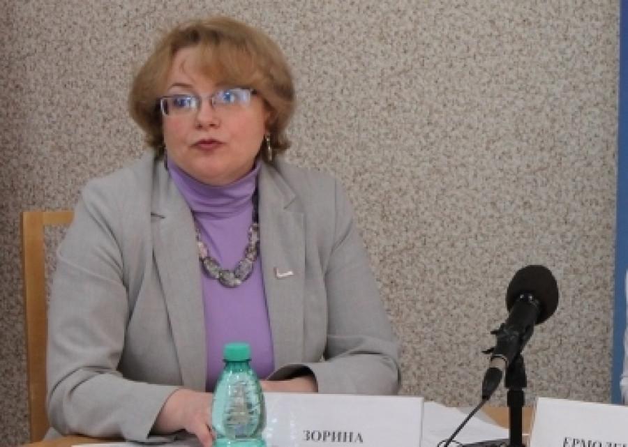 Лариса Зорина.