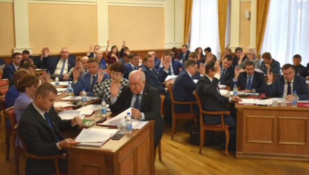 Заседание Барнаульской гордумы, 8 ноября 2019 года.