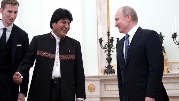 """Главред """"России сегодня"""" предложила опальному экс-президенту Боливии должность телеведущего"""