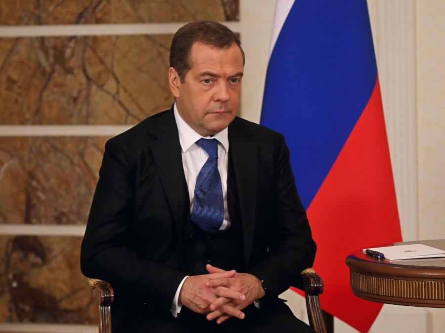Встреча Дмитрия Медведева и Виктора Томенко в Барнауле 12 ноября 2019 года.