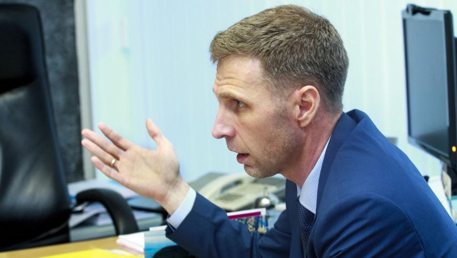 Виктор Зайцев, руководитель Росздравнадзора по Алтайскому краю.