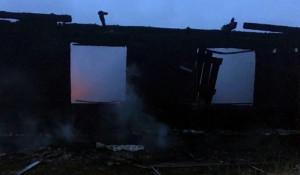Пожар в селе Сугаш.