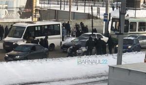 Задержание в центре Барнаула.