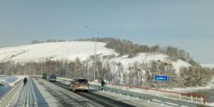 Мост через реку Иша.