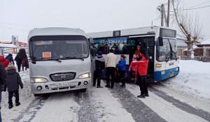 ДТП с автобусом во Власихе.