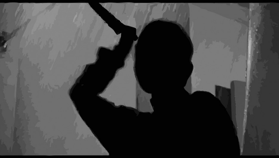 Силуэт. Нож. Убийца