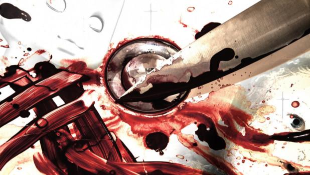 Кровь. Нож