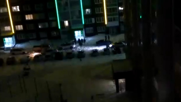 Драка в Барнауле.