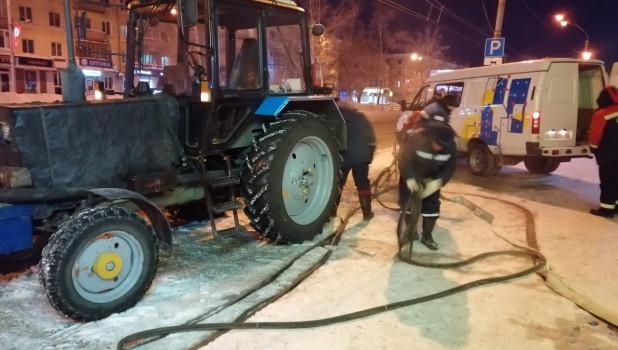 Коммунальная авария на пр. Ленина.