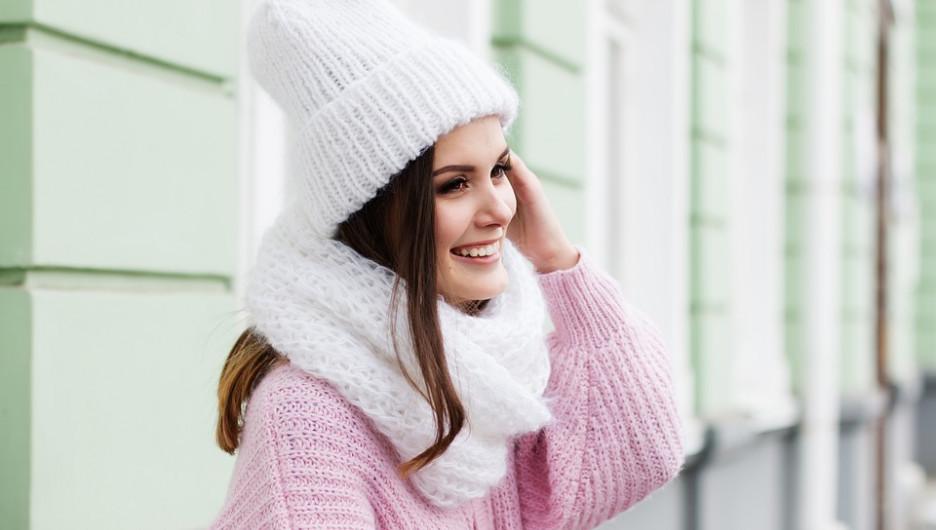 Девушка. Зима