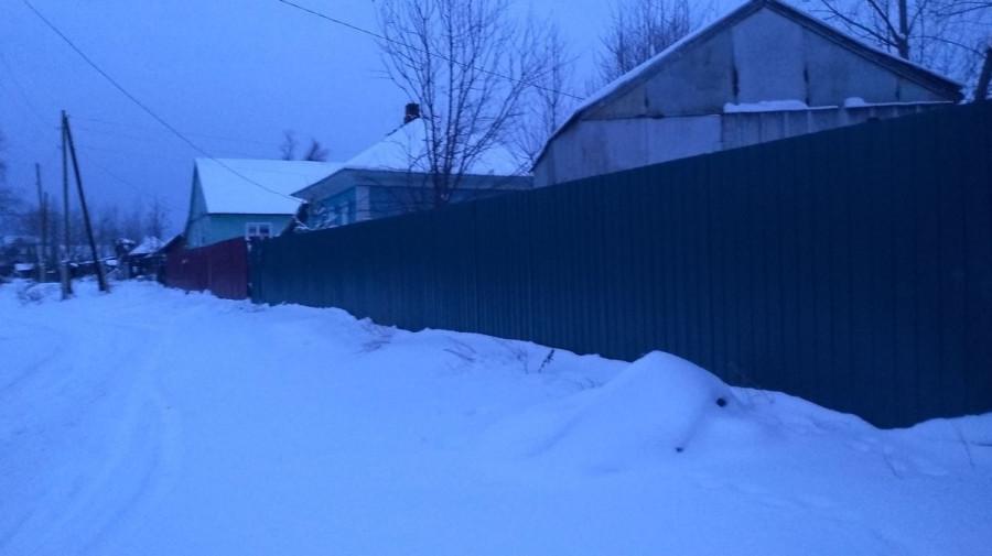 Забор Шишкиных