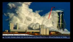 Взрыв опытной ракеты Илона Маска.