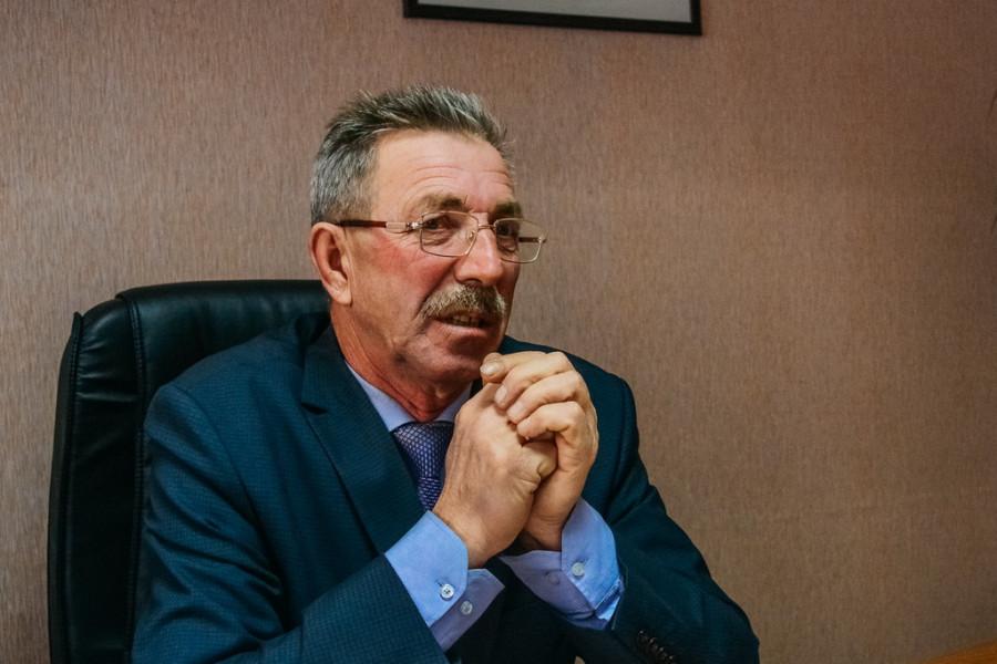 Владимир Молофеев, глава Санниковского сельского совета.