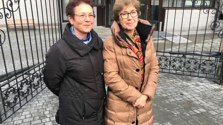 Наталья Зубаревич (справа) в Белокурихе.