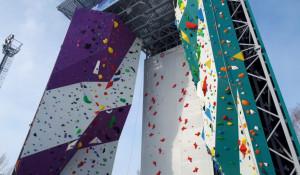 В Барнауле открыли современный скалодром