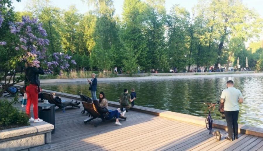 Концепция реконструкции парка «Изумрудный».