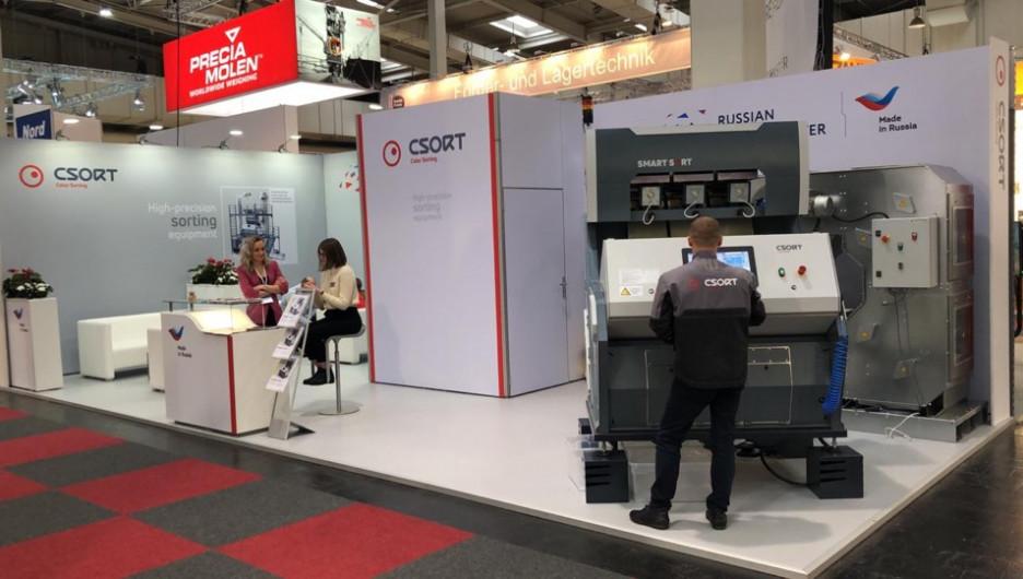 Компания «СиСорт» презентовала в Европе новый фотосепаратор.