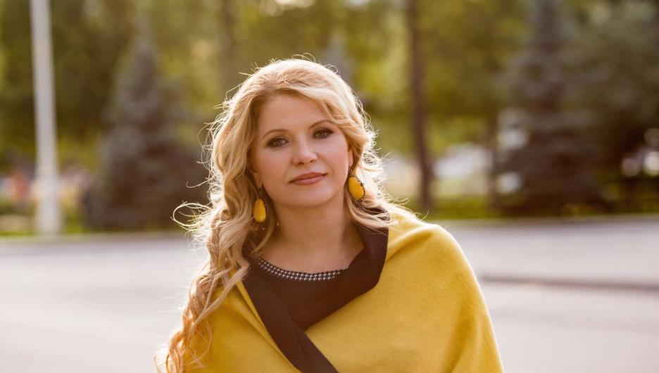 Оксана Некрасова, владелица ювелирного дома «Элита».